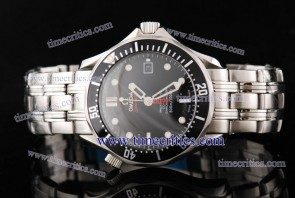 Omega TriOGA290 Seamaster Steel Black Watch