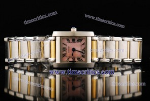 Cartier TriCAR439 Tank Francaise Steel Yellow Gold Watch