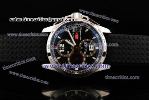 Chopard Trichp195 Mille Miglia GT Chrono /Black Steel Watch A7750