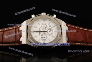 Audemars Piguet TriAP179 City of Sails White Dial Steel Watch