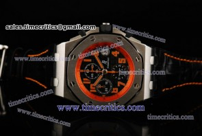 Audemars Piguet TriAP081 Royal Oak Offshore Limited Edition Black Dial Steel Watch