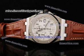Audemars Piguet TriAP078 Royal Oak Offshore Limited Edition White Dial Steel Watch