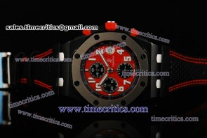 Audemars Piguet TriAP083 Royal Oak Offshore Limited Edition Red Dial PVD Watch