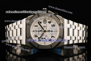 Audemars Piguet TriAP052 Royal Oak Offshore White Dial Steel Watch