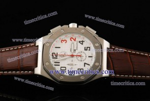 Audemars Piguet TriAP280 Shaquille O'Neal White Dial Steel Watch