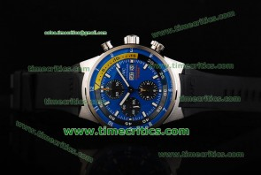 IWC TriIWCAQ2238 Aquatimer Chronograph Cousteau Divers Steel Watch
