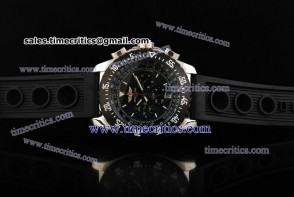 Breitling TriBrls091 Skyracer Rubber Steel Watch