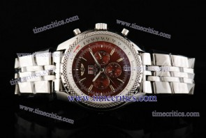 Breitling TriBrlb019 Bentley 6.75 Red Dial Steel Watch