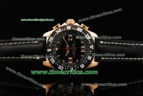 Breitling TriBrls076 Skyracer Leather Rose Gold Watch