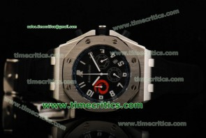Audemars Piguet TriAP163 City of Sails Black Dial Steel Watch
