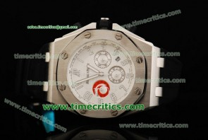 Audemars Piguet TriAP164 City of Sails White Dial Steel Watch