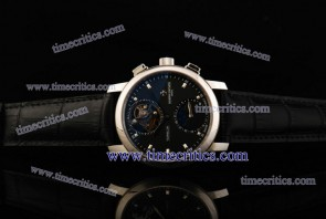 Vacheron Constantin TriVC084 Patrimony Complication Black Dial Steel Watch