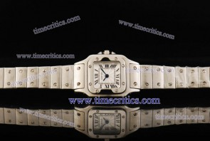 Cartier TriCAR423 Santos Galbee Steel Watch