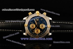 Breitling TriBRL530 Chronomat Evolution Black Dial Steel Watch