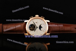 Vacheron Constantin TriVC086 Patrimony Complication White Dial Rose Gold Watch