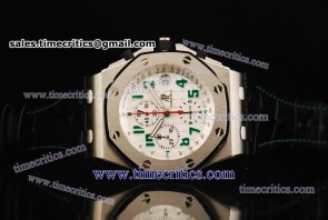 Audemars Piguet TriAP095 Royal Oak Offshore Limited Edition White Dial Steel Watch