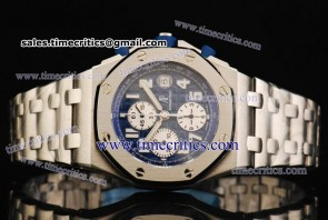 Audemars Piguet TriAP054 Royal Oak Offshore Blue Dial Steel Watch