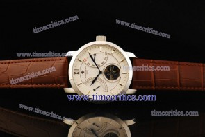 Vacheron Constantin TriVC091 Patrimony Complication White Dial Steel Watch