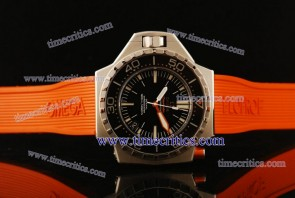 Omega TriOGA438 1:1 Copy Seamaster Ploprof Steel Black Watch