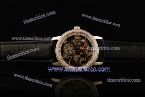 Vacheron Constantin TriVC099 Patrimony Complication Skeleton Dial Steel Watch