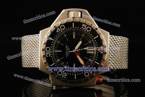Omega TriOGA443 1:1 Copy Seamaster Ploprof Steel Black Watch