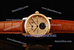 Vacheron Constantin TriVC095 Patrimony Complication White Dial Rose Gold Watch