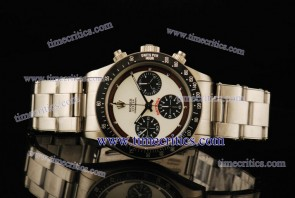 Rolex TriROL905 Daytona White Dial Steel Watch