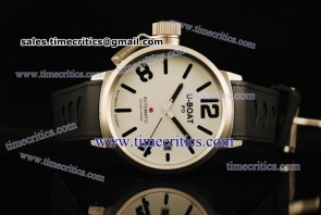U-Boat TriUB155 Classico White Dial Steel Watch