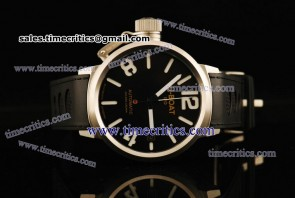 U-Boat TriUB158 Classico Black Dial Steel Watch