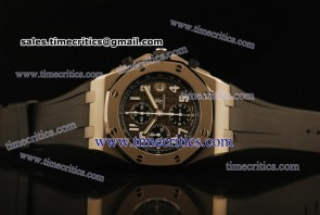 Audemars Piguet TriAP064 Royal Oak Offshore Gray Dial Titanium Watch
