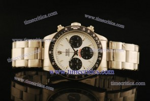 Rolex TriROL909 Daytona White Dial Steel Watch