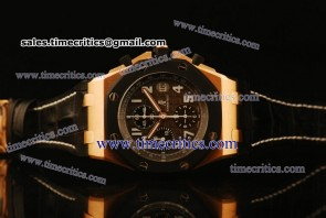 Audemars Piguet TriAP059 Royal Oak Offshore Gray Dial Rose Gold Watch