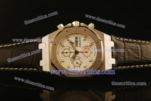 Audemars Piguet TriAP178 City of Sails White Dial Steel Watch