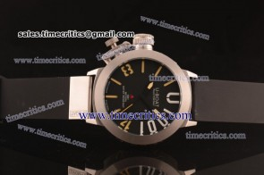 U-Boat TriUB223 Limited Edition Black Dial Steel Watch