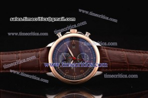 IWC TriIWCPG2435 Portuguese Yacht Club Chrono Steel/Rose Gold Watch