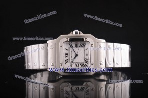 Cartier TriCAR424 Santos Galbee Steel Watch