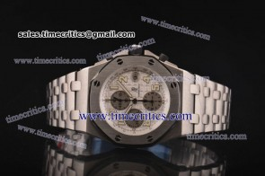 Audemars Piguet TriAP056 Royal Oak Offshore White Dial Steel Watch