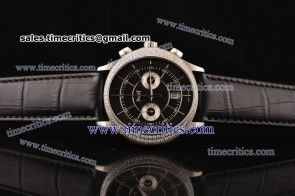 Piaget TriPIA063 Black Tie Black Dial Steel Watch