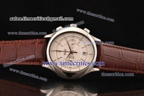 Piaget TriPIA071 Black Tie White Dial Steel Watch