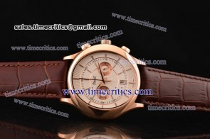 Piaget TriPIA074 Black Tie White Dial Rose Gold Watch