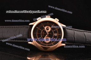 Piaget TriPIA072 Black Tie Black Dial Rose Gold Watch