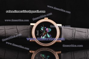 Piaget TriPIA079 Altiplano Black Dial Rose Gold Watch