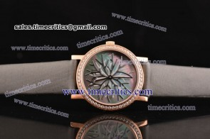 Piaget TriPIA080 Altiplano Black MOP Dial Rose Gold Watch