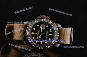 Rolex Pro-Hunter TriROL1437 Sea-Dweller Brown Dial PVD Watch