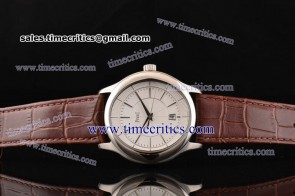 Piaget TriPIA086 Black Tie Gouverneur White Dial Steel Watch