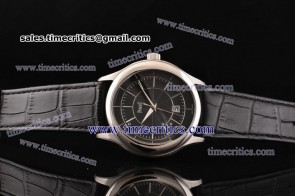 Piaget TriPIA090 Black Tie Gouverneur Black Dial Steel Watch