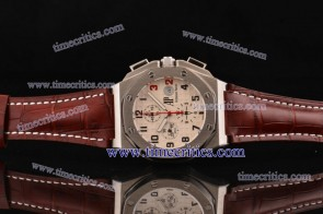 Audemars Piguet TriAP281 Shaquille O'Neal White Dial Steel Watch