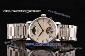 Patek Philippe TriPP162 Complication White Dial Steel Watch