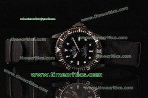 Rolex Pro-Hunter TriROL1441 Submariner Black Dial PVD Watch