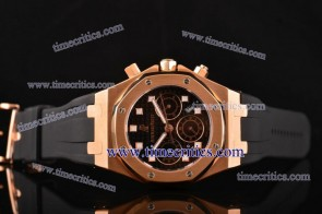 Audemars Piguet TriAP177 City of Sails Black Dial Rose Gold Watch